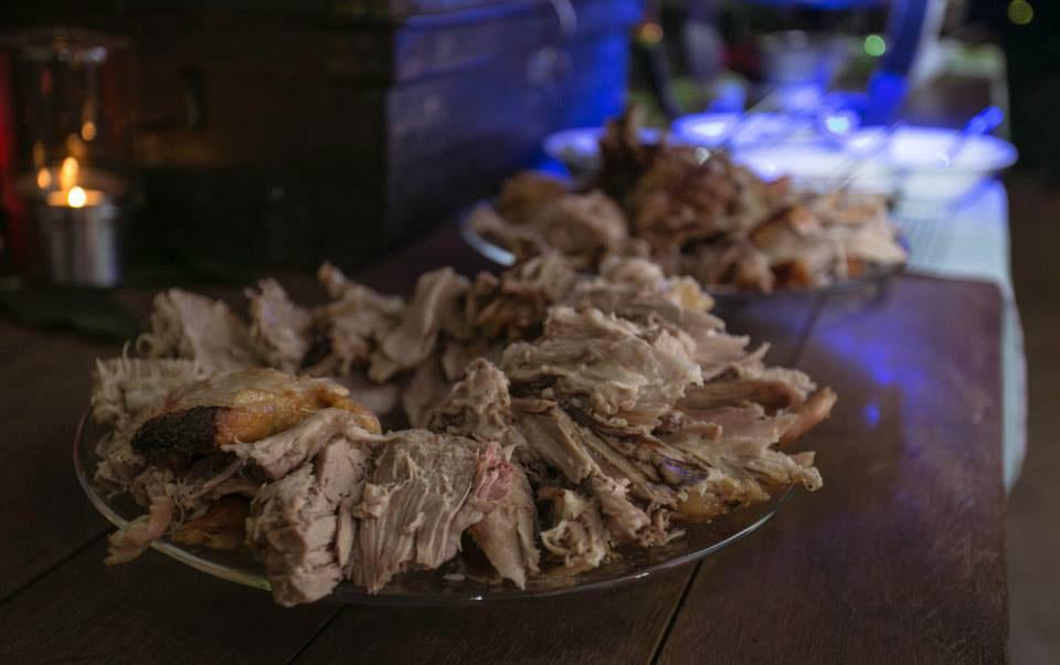 Pork Roast Platter